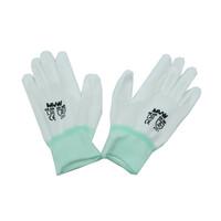 Găng tay bảo hộ MVW màu trắng phủ PU lòng bàn tay MVW-WPPC-300M (SP93-ND9.2) size M