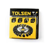 Bánh cước 125mm Tolsen 77533