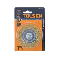 Bánh cước công nghiệp 75mm Tolsen 77542