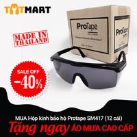 Hộp 12 cái kính bảo hộ ProTape SM417 kiểu tiêu chuẩn, màu đen