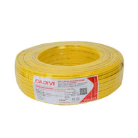 Dây điện đôi mềm 2 lớp bọc CADIVI VCmd 2x2.5