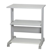 RS PRO 3 Shelf Printer Stand, 30kg Max. Load (1445956)