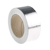 RS PRO Aluminium Tape 0.07mm, W.50mm, L.45m (1468961)