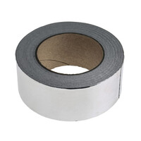 RS PRO Aluminium Tape 0.08mm, W.50mm, L.45m (1468962)