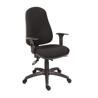 RS PRO Fabric Typist Chair Black (1809718)