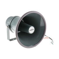 RS PRO Horn Speaker, 15W, Metal, IP66 (5350300)