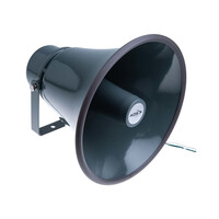 RS PRO Horn Speaker, 30W, Metal, IP66 (5350316)