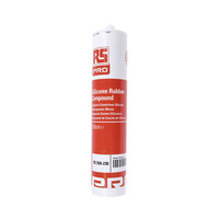 RS PRO Transparent Silicone Sealant Paste 310 ml Cartridge (550230)