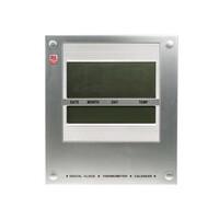 RS PRO Silver Digital Wall Clock (8111820)