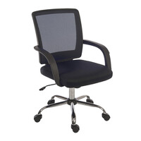 RS PRO Fabric Typist Chair Black (1809717)
