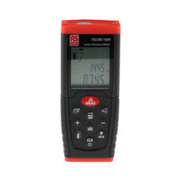 RS PRO RSLDM-100H Laser Measure, 0.05 → 100m Range, ±1.5 mm Accuracy (1268184)