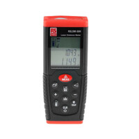 RS PRO RSLDM-50H Laser Measure, 0.05 → 50m Range, ±1.5 mm Accuracy (1268821)