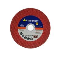 Đá cắt sắt, inox Kingblue D4-107x1.2 đỏ