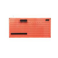Tấm lưới Pegboard màu đỏ kèm phụ kiện treo FABINA FB-VLPKR4590