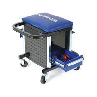 Xe dụng cụ có ghế 136 chi tiết Workpro W009039