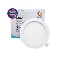 """Bóng đèn LED âm trần tròn 4"""" 9W Gata TL02-C49D ánh sáng trắng"""