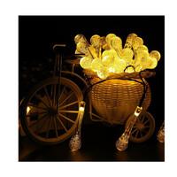 Dây đèn LED trang trí dài 5m, 20 bóng hình giọt nước dùng pin