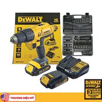 Bộ máy khoan vặn vít động lực pin Dewalt DCD776C2A-B1