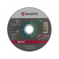 Đá cắt inox 125mm x 1.0 Wurth 0669230121
