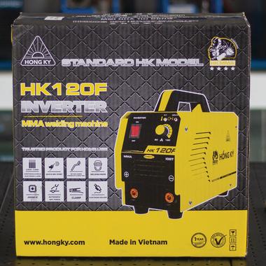 Máy hàn que MMA Inverter 120 Ampe 220V Hồng Ký HK120F